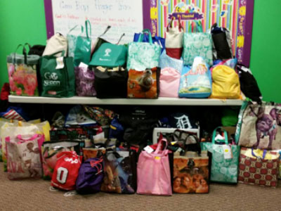 Foster Care Bags for Lucas County